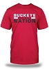 Buckeye Nation Football - Red