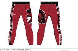 Park Hill Wrestling 2016/2017 Sublimated Compression Tights