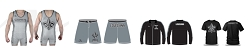 Lafayette Scrappers Wrestling 2017 Package (Singlet, Legacy Stretch Short T-Shirt and Profusion Jacket)