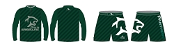 Polo Panthers Wrestling 2017 Package (Legacy Stretch Short and Quarter Zip)