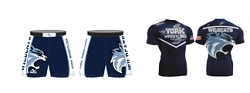 York Wildcats Wrestling 2017/2018 Package (Legacy Stretch Short and Compression Shirt)