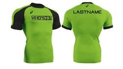 Asics Who's#1 2017 Compression Shirt (GREEN)