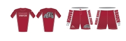 Braden Middle School Wrestling 2017/2018 Package (Compression Shirt and Legacy Stretch Short)