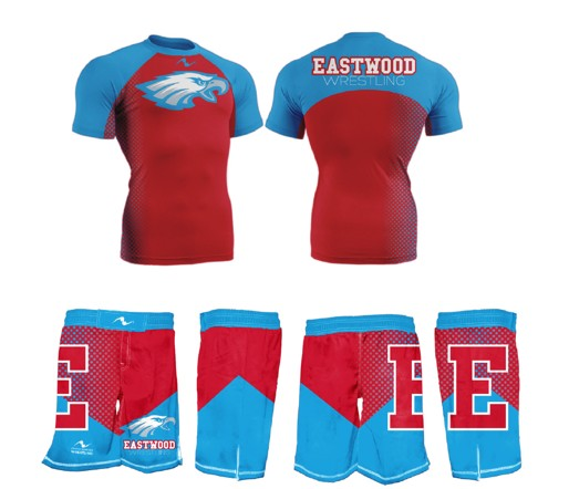 Eastwood Wrestling 2017/2018 Package (Compression Shirt and Legacy Stretch Short)