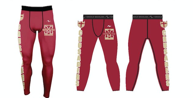 Brother Martin Wrestling 2017/2018 Compression Tights
