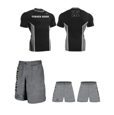 Turner Ashby Wrestling 2017/2018 Package (Legacy Stretch Short and Compression Shirt)