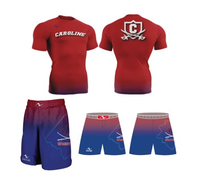 Caroline Cavalier Wrestling 2017/2018 Package (Freestyle Short and Compression Shirt)