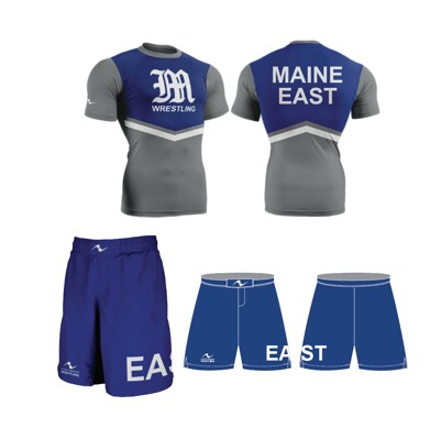 Maine East Wrestling 2017/2018 Package (Legacy Stretch Short and Compression Shirt)