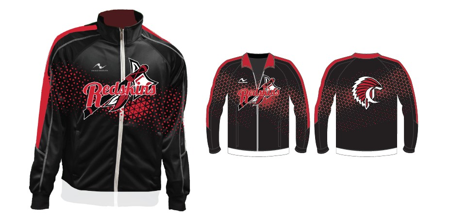 Coshocton Wrestling 2017/2018 Warm Up Jacket