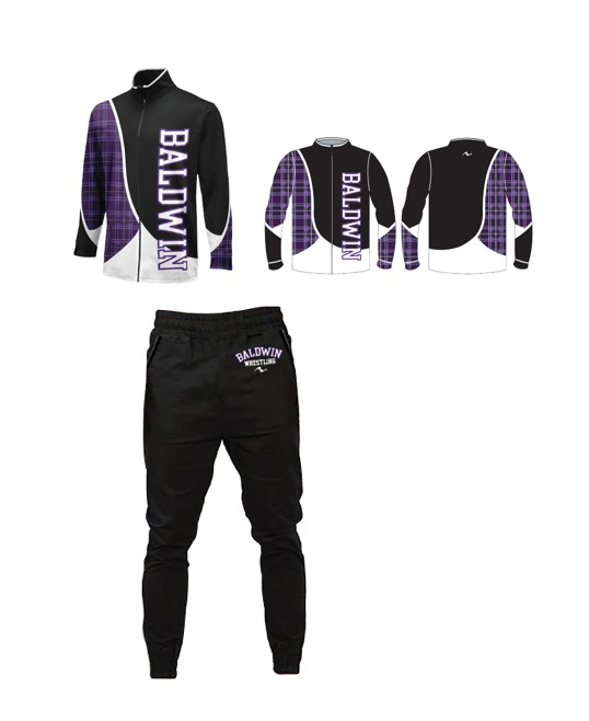 Baldwin 2017/2018 Package (Warm Up Jacket and Jogger)