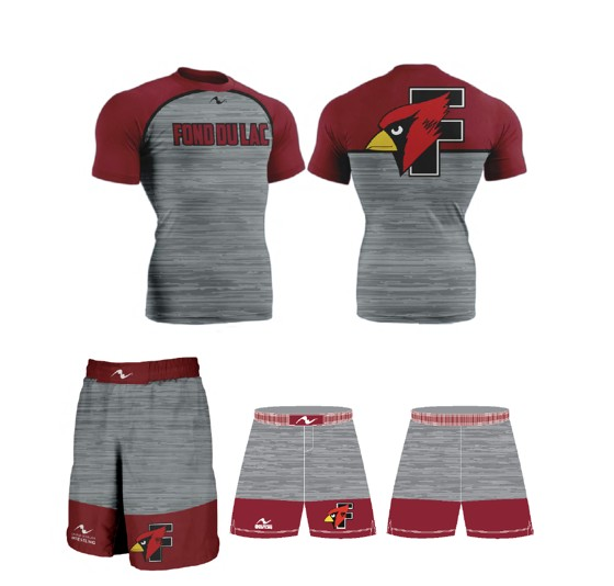 Fond Du Lac Wrestling 2017/2018 Package (Freestyle Short and Compression Shirt)