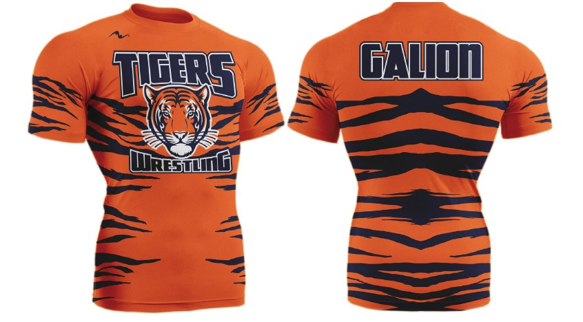 Galion Wrestling 2017/2018 Compression Shirt