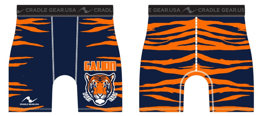 Galion Wrestling 2017/2018 Compression Short