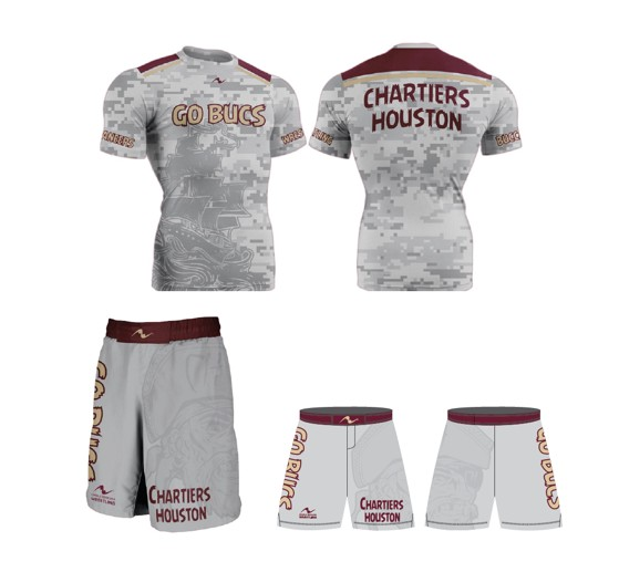 Chartiers Houston Wrestling 2017/2018 PACKAGE (Legacy Stretch Short and Compression Shirt)