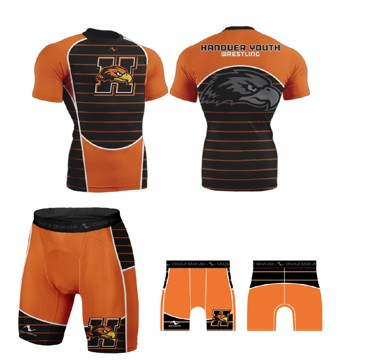 Hanover Fighting Hawks Youth Wrestling 2017/2018 Singlet