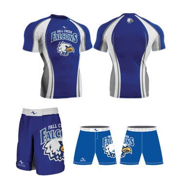 Fall Creek Wrestling 2017/2018 Package (Compression Shirt and MMA Short)