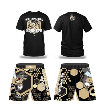 Williamsburg Hornets 2017/2018 Package (MMA Short and T-Shirt)