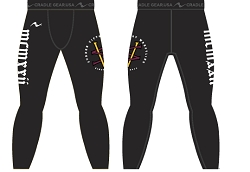 Sudden Victory Wrestling 2016/2017 Sublimated Compression Tights