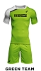 Asics Who's # 1 2019  2pc set Green Team