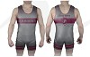 Clinton Maroons Wrestling 2016/2017 Sublimated Singlet