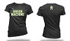 Green Machine Wrestling 2016/2017 Ladies T-Shirt with Transfer