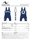 Granville Youth Wrestling 2013/2014 Season Sublimated Singlet