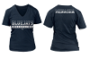 Menasha BlueJays 2016/2017 Ladies V-Neck T-Shirt with Transfer