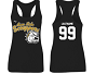 Avon Lake Scrappers 2016 Ladies Tank (Black)