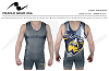 Augustana University 2015/2016 Grey Sublimated Singlet