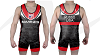 U.S. Marines Corp 2017 Sublimated Red Singlet