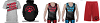 Plano Pack 2017 Package (Red Singlet, Blue Singlet, Performance Short, T-Shirt and Hoodie)