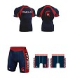 Comeaux High School Wrestling 2017/2018 Package (Compression Short and Compression Shirt)