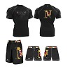 North Point Wrestling 2017/2018 (Compression Shirt and MMA Short)