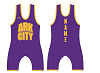 Ark City Wresting 2017/2018 Sublimated Singlet