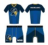 Mainland High School Wrestling 2018  Package (Compression Shirt and Compression Short)